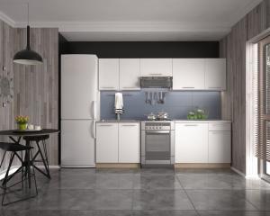HALMAR Daria 240 kuchyňa biela / dub sonoma