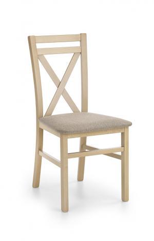 HALMAR Dariusz jedálenská stolička dub sonoma / hnedá