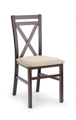 HALMAR Dariusz jedálenská stolička tmavý orech / béžová