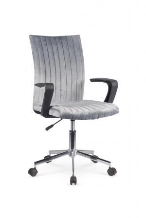 HALMAR Doral kancelárska stolička s podrúčkami tmavosivá