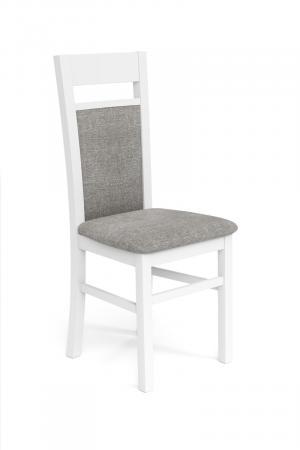 HALMAR Gerard 2 jedálenská stolička biela / svetlosivá