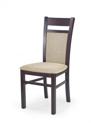 HALMAR Gerard 2 jedálenská stolička tmavý orech / béžová