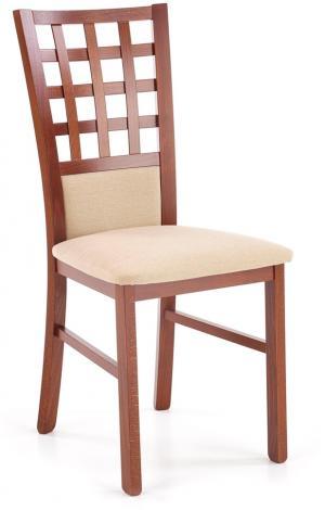 HALMAR Gerard 3 BIS jedálenská stolička čerešňa antická / béžová