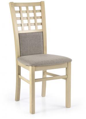 HALMAR Gerard 3 jedálenská stolička dub sonoma / hnedá