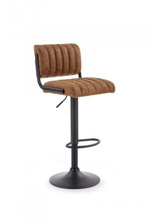 HALMAR H-88 barová stolička hnedá / čierna