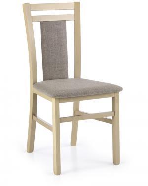 HALMAR Hubert 8 jedálenská stolička dub sonoma / hnedá