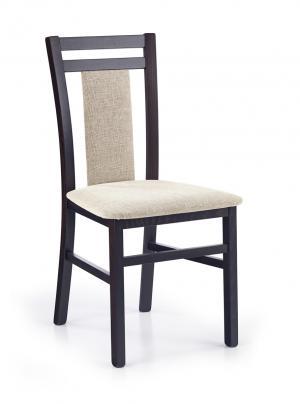 HALMAR Hubert 8 jedálenská stolička wenge / béžová
