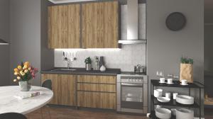 HALMAR Idea 180 kuchyňa dub wotan / antracit