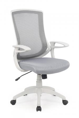 HALMAR Igor kancelárska stolička s podrúčkami sivá / svetlosivá