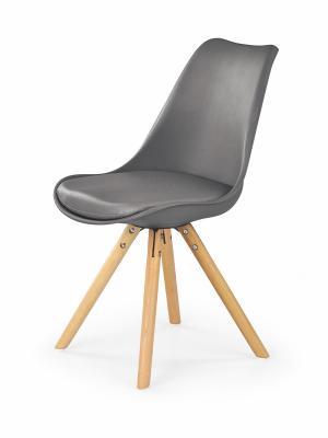 HALMAR K201 jedálenská stolička sivá / buk