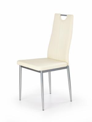 HALMAR K202 jedálenská stolička krémová