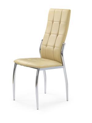 HALMAR K209 jedálenská stolička béžová / chróm