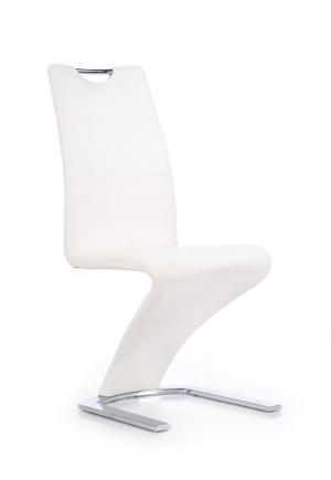 HALMAR K291 jedálenská stolička biela