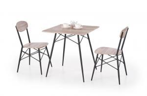 Halmar KABIR štvorec, stôl + 2 stoličky