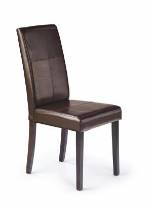 HALMAR Kerry Bis jedálenská stolička wenge / tmavohnedá