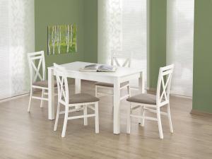 HALMAR Ksawery jedálenský stôl biela