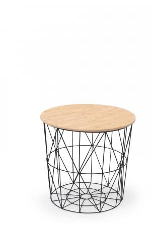 Halmar MARIFFA konferenčný stolík, natural / čierna