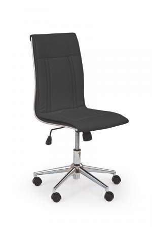 HALMAR Porto kancelárska stolička čierna