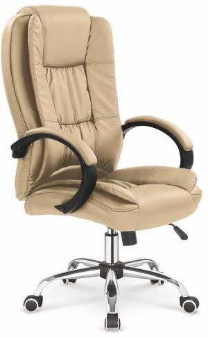 HALMAR Relax kancelárske kreslo s podrúčkami béžová