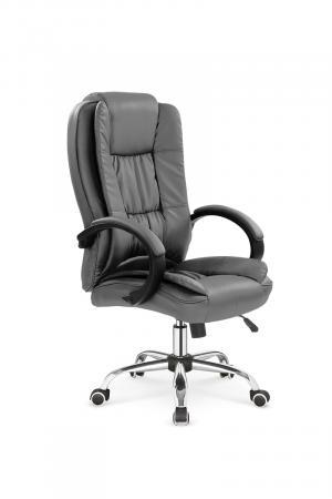 HALMAR Relax kancelárske kreslo s podrúčkami sivá