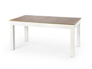 HALMAR Seweryn rozkladací jedálenský stôl dub sonoma / biela