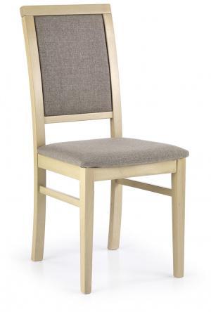 HALMAR Sylwek 1 jedálenská stolička dub sonoma / hnedá