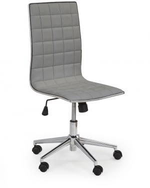 HALMAR Tirol kancelárska stolička sivá