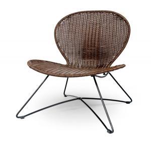HALMAR Troy záhradná stolička hnedá