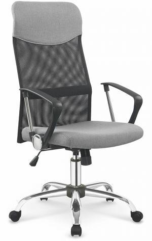 HALMAR Vire 2 kancelárska stolička s podrúčkami sivá / čierna