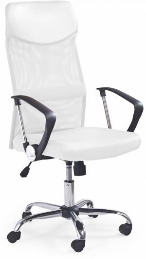 HALMAR Vire kancelárska stolička s podrúčkami biela