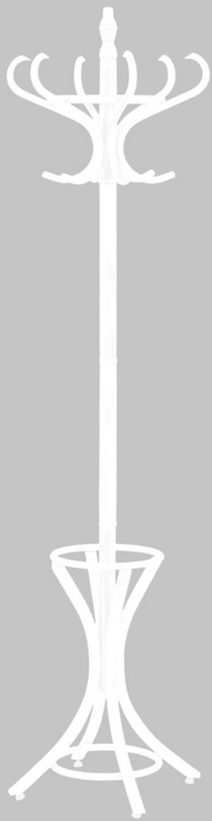 HALMAR W30 vešiak biela