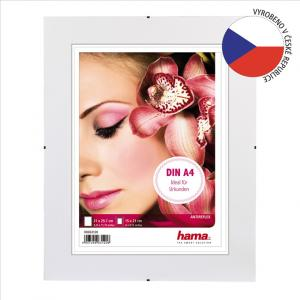 Hama 63120 Fotorámček clip-Fix, antireflexné sklo, 21x29,7 cm