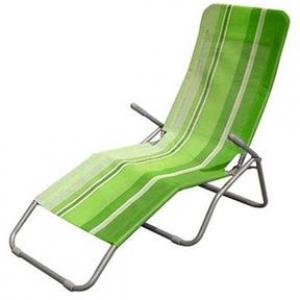 Happy Green Plážové lehátko, svetlo zelené