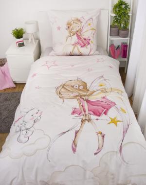 HE Detské bavlnené obliečky 100x135+40x60 - Little Fairy