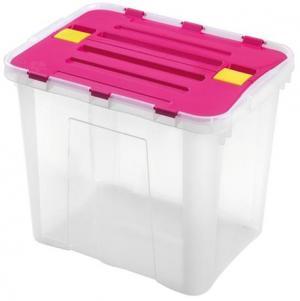 heidrun Plastový úložný box s vekom HEIDRUN Dragon 30l