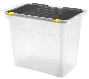 heidrun Plastový úložný box s vekom HEIDRUN One 72l