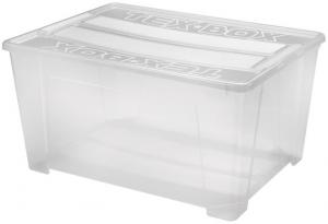 heidrun Plastový úložný box s vekom HEIDRUN TexBox 150l