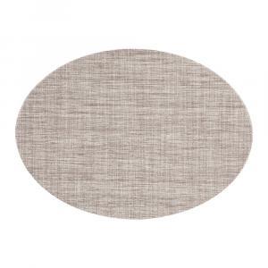 Hnedosivé prestieranie Tiseco Home Studio Oval, 46 × 33 cm