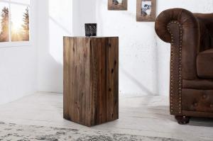 Hnedý stolík Columna 50cm