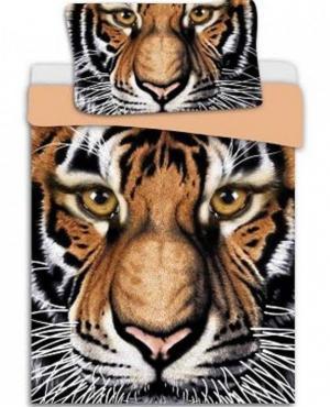 HoD Obliečky Tiger Bavlna 70x90 140x200 cm