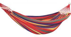 Hojdacia sieť s drevenou tyčou 190 x 80 cm