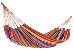 Hojdacia sieť záhradné ležadlo hamak 190 x 80 cm