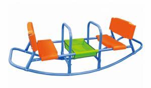 Hojdačka pre deti GH5854 modrá / oranžová / zelená