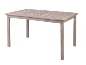 HOLIDAY stôl - šedý borovica