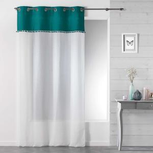 Hotové záclony dvojfarebné so strapcami SONEVA 140 x 280 cm