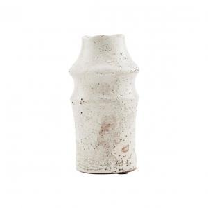 House Doctor Kameninová váza Nature Sand 20 cm