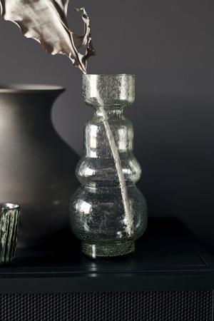 House Doctor Sklenená váza Organi Green - väčšia