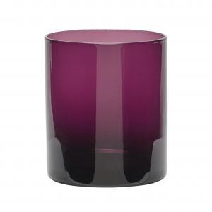 Hübsch Sklenený svietnik Purple