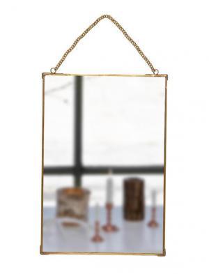 Hübsch Závesné zrkadlo Sanja