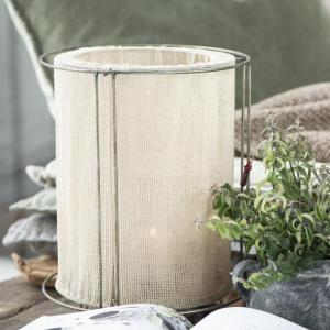IB LAURSEN Kovový svietnik s tienidlom 35 cm